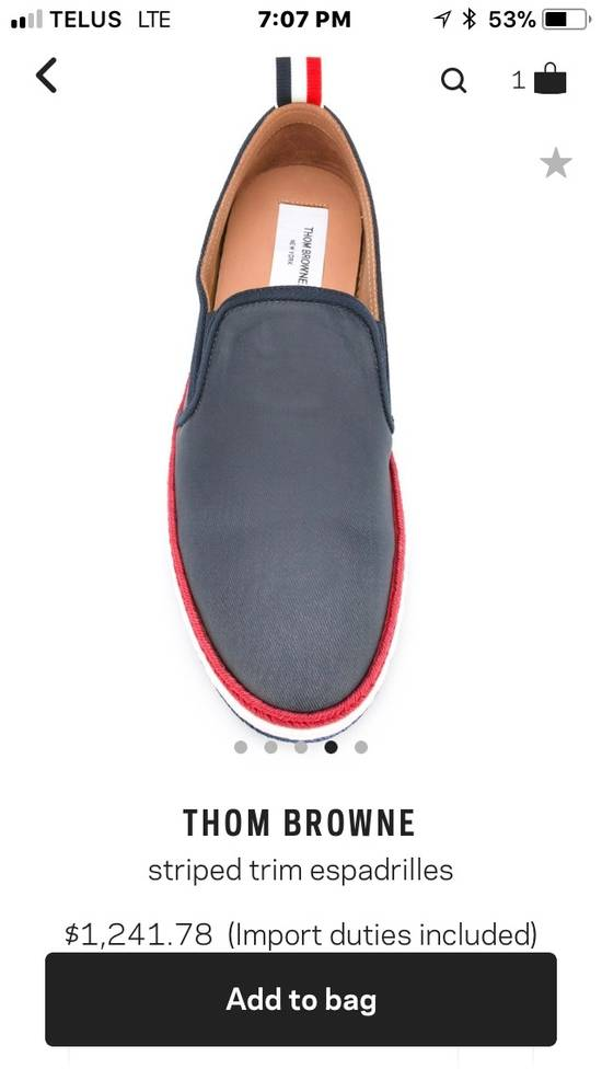 Thom Browne *Final Drop* New In Box Espadrilles Size US 10 / EU 43 - 4
