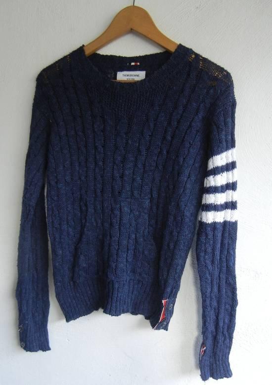 Thom Browne Thom Browne New York Navy Knitwear Size 1 Size US S / EU 44-46 / 1