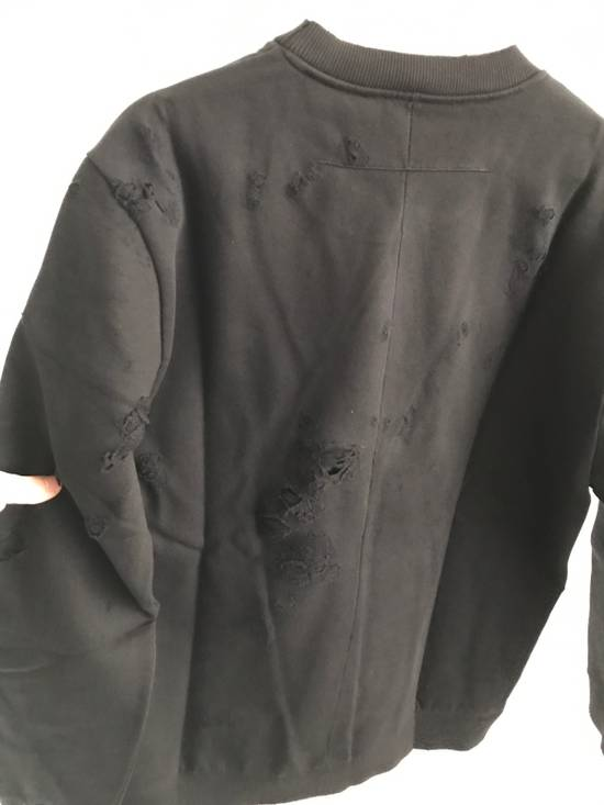 Givenchy Distressed Printed Logo Sweatshirt Size US M / EU 48-50 / 2 - 2