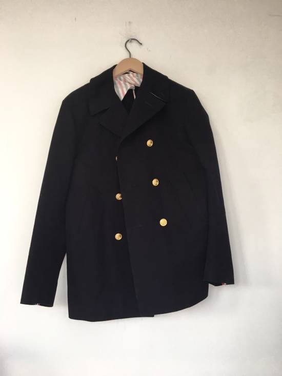 Thom Browne TB Navy Deconstructed Peacoat Size US M / EU 48-50 / 2 - 1