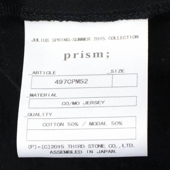 Julius 7 Black Cotton Blend Graphic Tank Top T-Shirt Size 2/S Size US S / EU 44-46 / 1 - 5