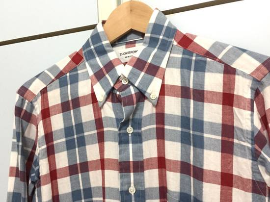 Thom Browne Men's Thom Browne New York Plaids Oxford Shirt Sz 1 Size US S / EU 44-46 / 1 - 1