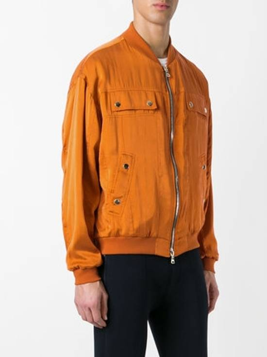 Balmain Orange Bomber Jacket Size US S / EU 44-46 / 1