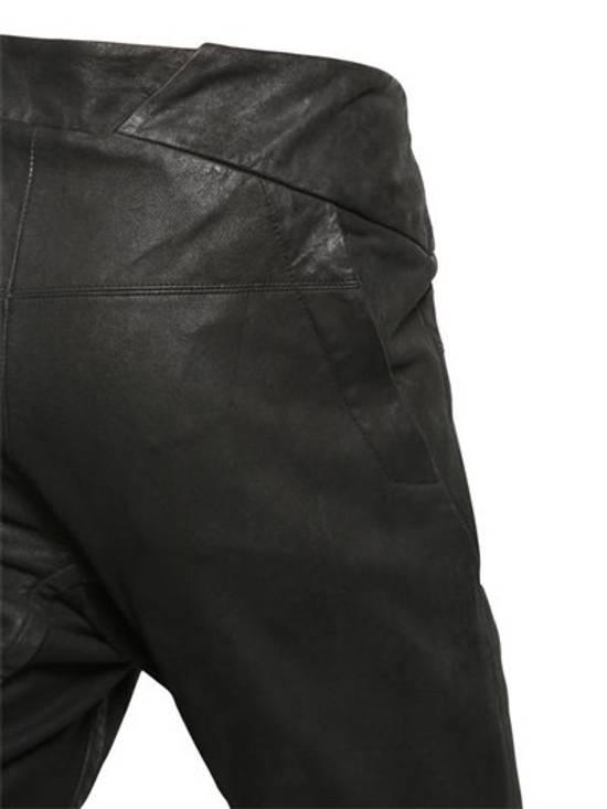 Julius BNWT Leather Paneled Biker Pants Size US 30 / EU 46 - 6