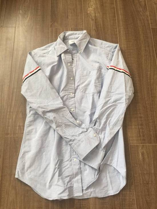 Thom Browne Thom Browne Classic Shirt Light Blue Size US XL / EU 56 / 4