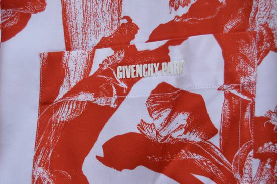 Givenchy Iris Print Short Sleeve Shirt Size US M / EU 48-50 / 2 - 5