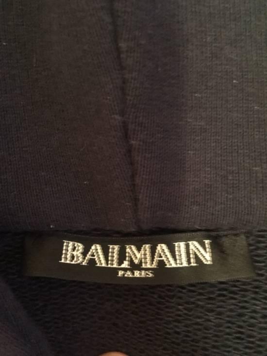 Balmain Anchor Patch Hoodie Size US XL / EU 56 / 4 - 3