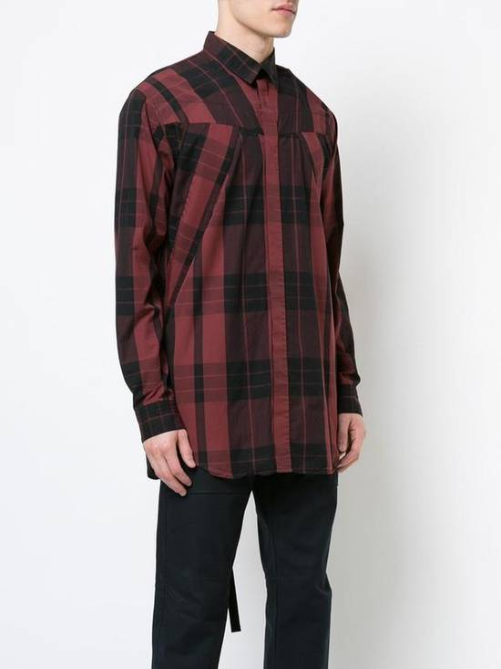 Julius Red Check Panel Shirt Size US M / EU 48-50 / 2