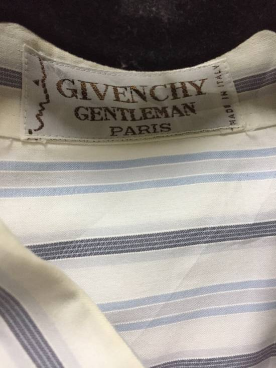 Givenchy Vintage Givenchy Stripe Button Shirt Size US L / EU 52-54 / 3 - 3