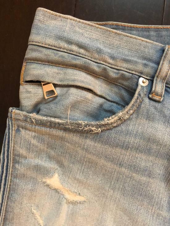 Balmain Balmain jeans distressed light indigo Size US 31 - 5