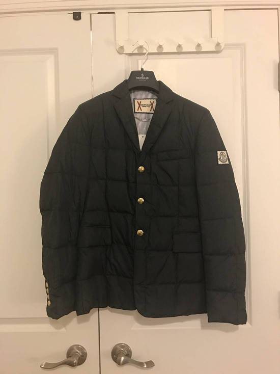 Thom Browne Gamme Bleu Wool Quilted Down Blazer Size US XS / EU 42 / 0