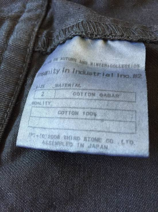 Julius AW08 Gas mask cargo pocket denim jacket Size US S / EU 44-46 / 1 - 13