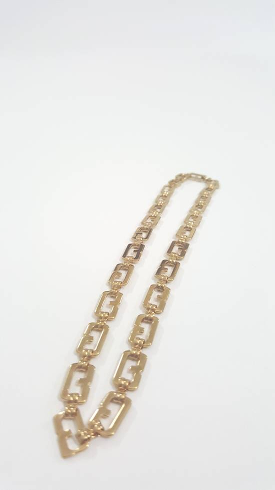 Givenchy Gold plated necklace G link Size ONE SIZE - 9