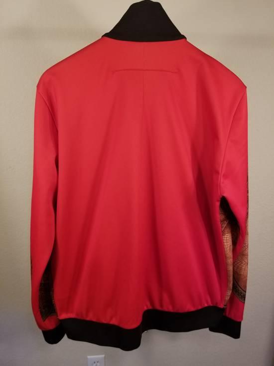 Givenchy Red Money Print Zip Up Jacket Size US L / EU 52-54 / 3 - 1