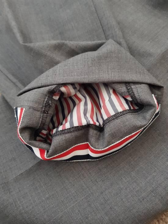 Thom Browne Light Grey cropped dress trousers Size US 32 / EU 48 - 5