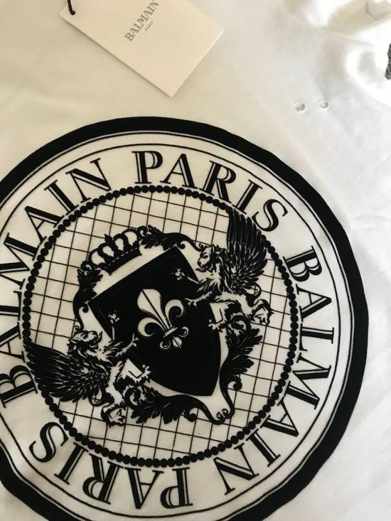 Balmain SS18 Logo Print T-Shirt Size US S / EU 44-46 / 1 - 2