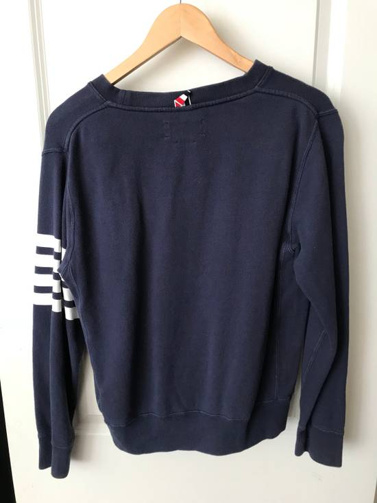 Thom Browne Four Stripe Sweatshirt Size US S / EU 44-46 / 1 - 3