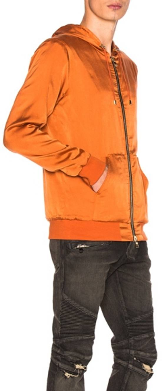 Balmain Orange Bomber Jacket Size US S / EU 44-46 / 1 - 2