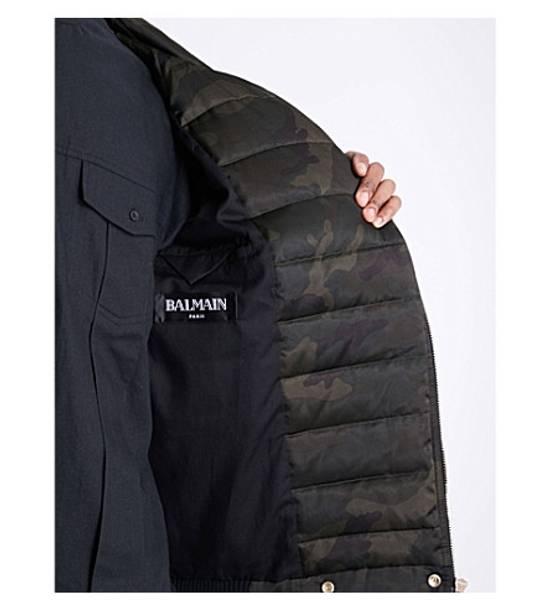 Balmain Camouflage-print shell-down puffer jacket Size US M / EU 48-50 / 2 - 3