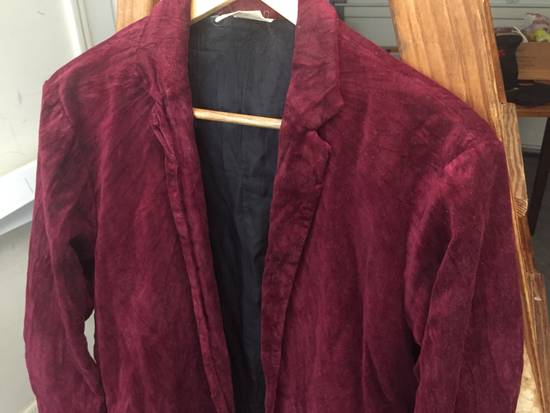 Julius AW03 Blood Red Velvet Blazer Size US M / EU 48-50 / 2 - 2