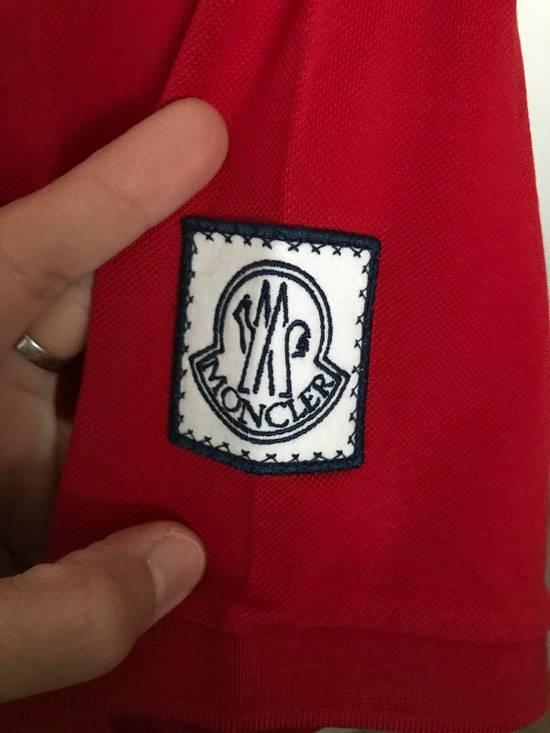 Thom Browne Red Cotton Polo Size US XS / EU 42 / 0 - 2