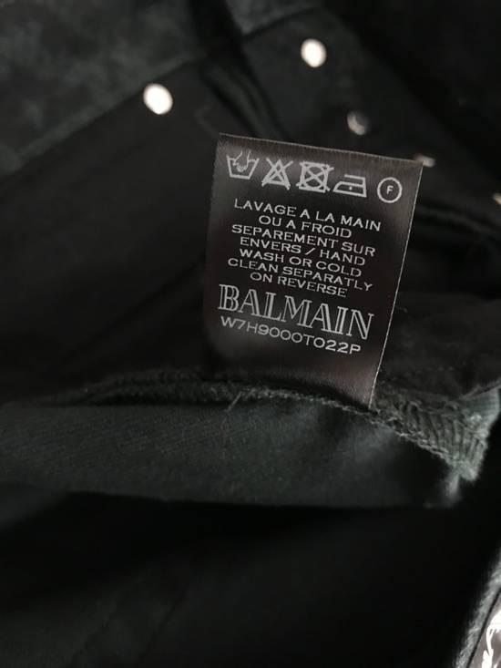 Balmain Size 32 - Distressed Snake Print Rockstar Jeans - FW17 - RARE Size US 32 / EU 48 - 7