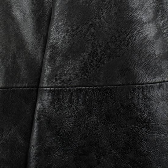 Julius 7 Men's Black Lamb Skin Leather Zip-Up Jacket Size 2/S Size US S / EU 44-46 / 1 - 6