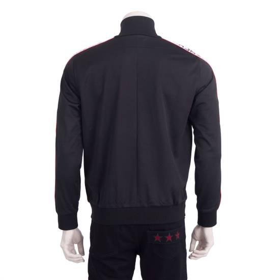 Givenchy Black Technical Jersey Jacket With Logo Banded Sleeves Size US L / EU 52-54 / 3 - 2