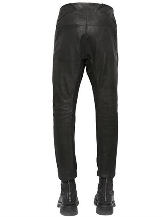Julius BNWT Leather Paneled Biker Pants Size US 30 / EU 46 - 7