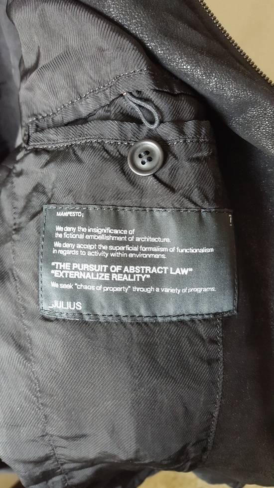 Julius Julius SS13 Vandalism Biker Jacket sz.4 Size US L / EU 52-54 / 3 - 5