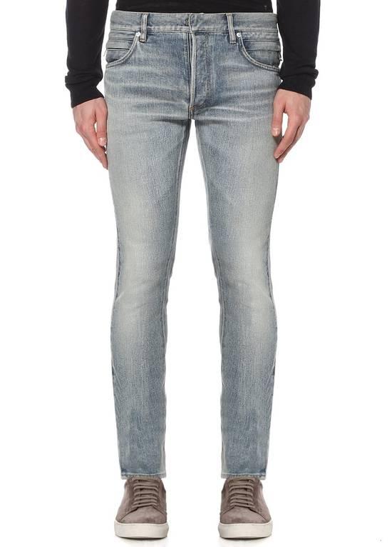 Balmain Side Detail Jeans Size US 32 / EU 48