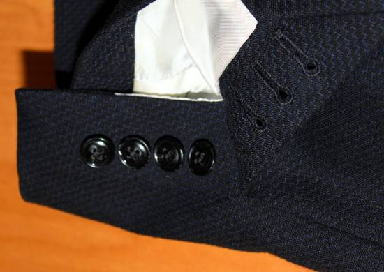 Dries Van Noten luxury blazer sportcoat wool cotton mix Size 38R - 6