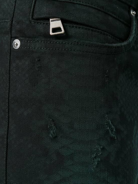 Balmain Size 32 - Distressed Snake Print Rockstar Jeans - FW17 - RARE Size US 32 / EU 48 - 14