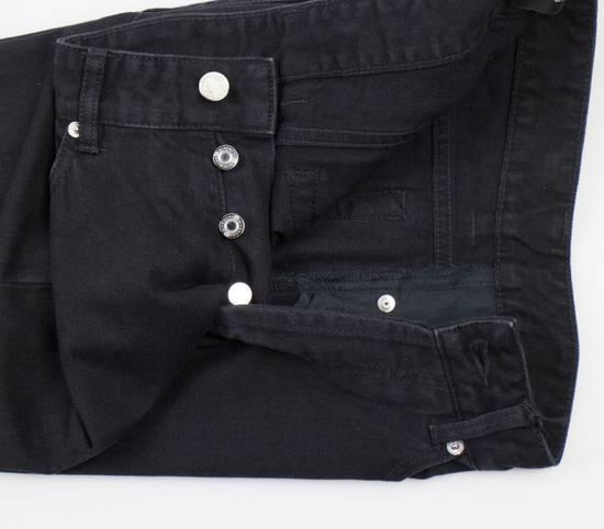 Givenchy Black Cotton Denim Jeans Pants Size US 29 - 1