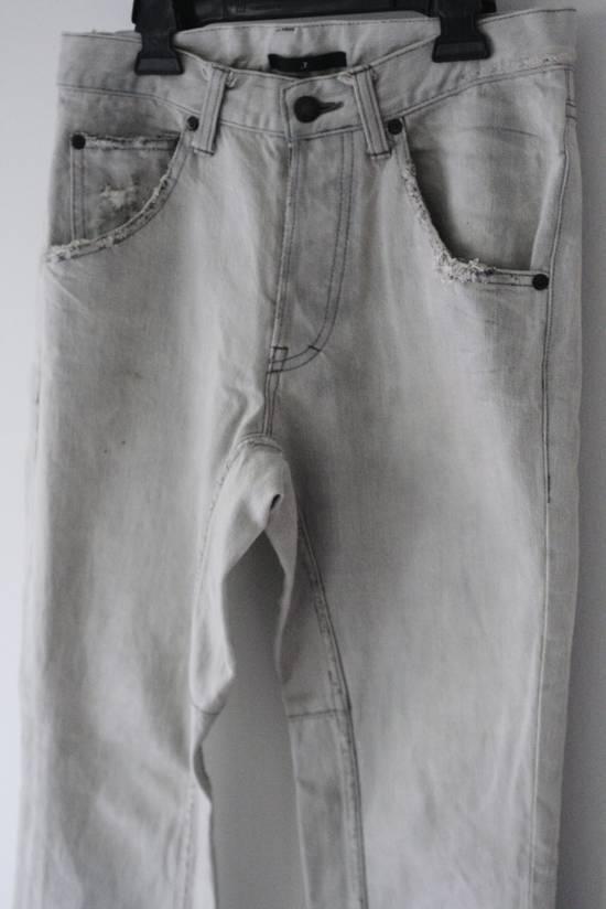 Julius SS05 Dirty White Distressed Denim Size US 30 / EU 46 - 1