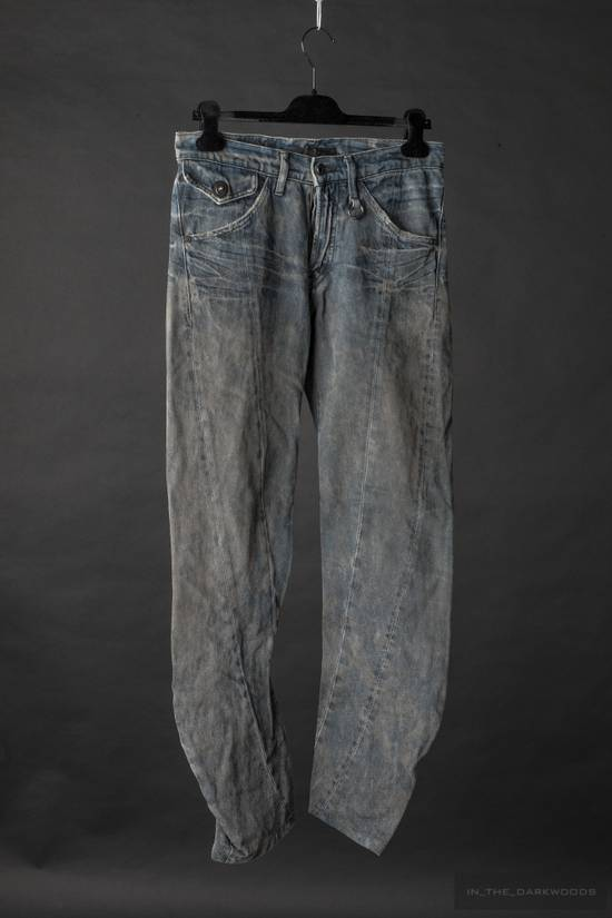 Julius Limited edition 'dirty' denim Size US 28 / EU 44