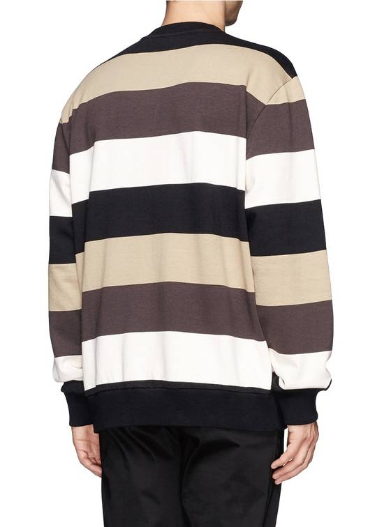 Givenchy $795 Givenchy American Flag Stripe Rottweiler Oversized Sweater size XXS (L) Size US L / EU 52-54 / 3 - 6