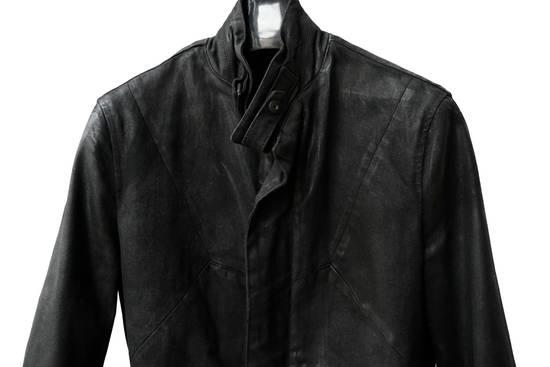 Julius JULIUS _7 ma moto black knit denium biker jacket sz1 eu44 46 xs s slim fit Japan Size US S / EU 44-46 / 1 - 6