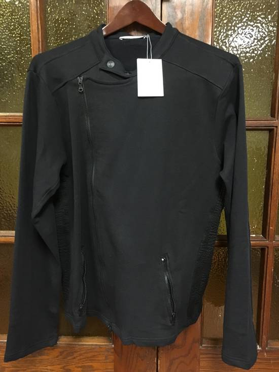 Balmain Cotton Moto Jacket (navy) Size US XL / EU 56 / 4