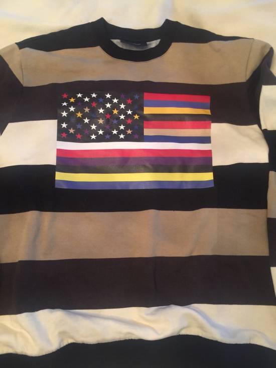 Givenchy Star/flag Sweatshirt Size US S / EU 44-46 / 1 - 2