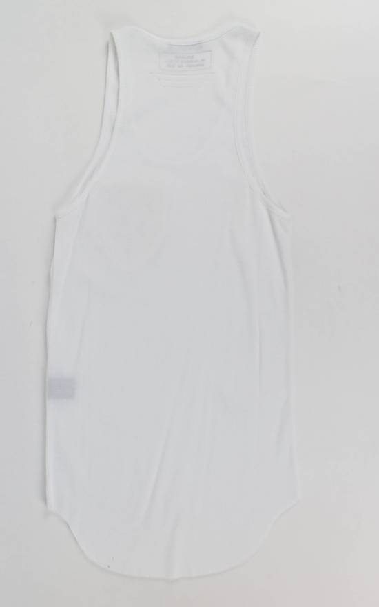 Balmain White Cotton Ribbed Tank Top Size S Size US S / EU 44-46 / 1 - 3