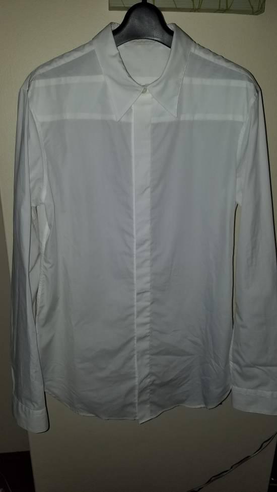 Julius Size 3 Formal Dress Shirt 2016 Pre Fall White Size US L / EU 52-54 / 3 - 1