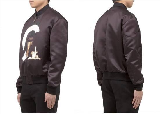 Givenchy $2850 Givenchy Madonna and Baby Jesus Satin Purple Bomber Jacket size 50 Size US M / EU 48-50 / 2 - 2