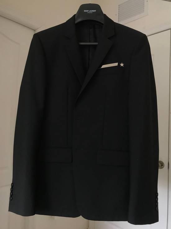 Givenchy Stripe Star Wool Blazer Size 38R