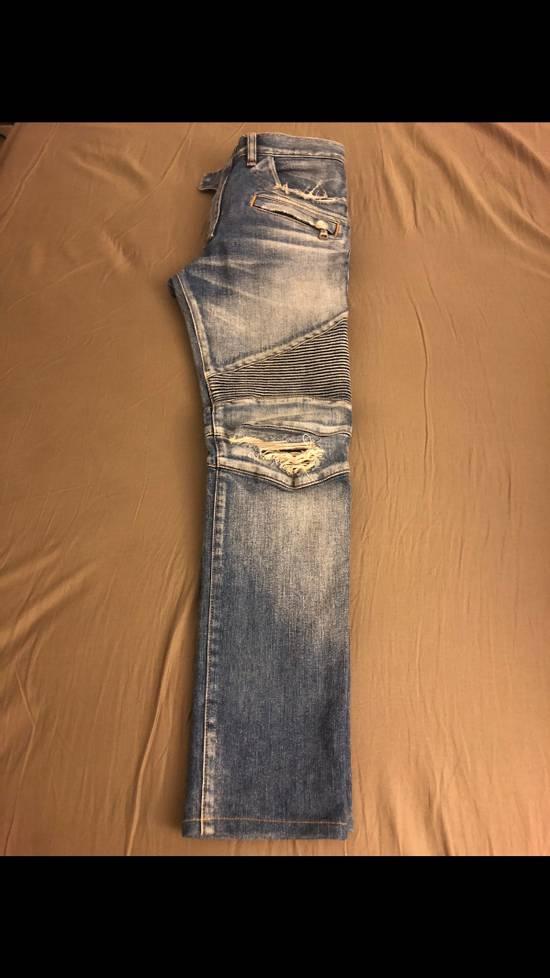Balmain Distressed Balmain Denim Size US 29