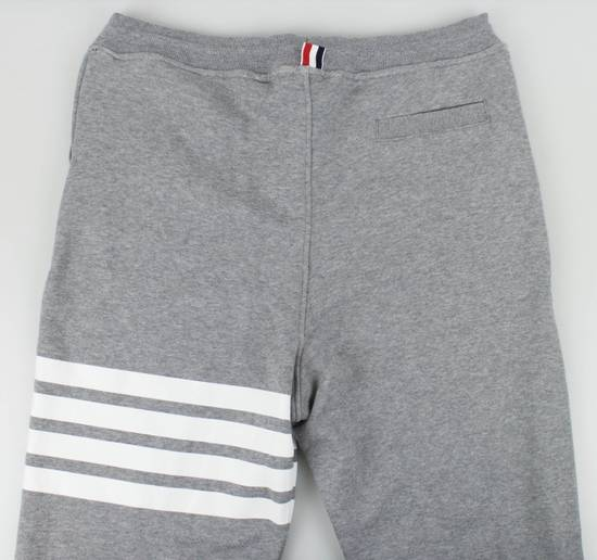 Thom Browne New Thom Browne Gray Cotton Sweat Pants Size US 36 / EU 52 - 4