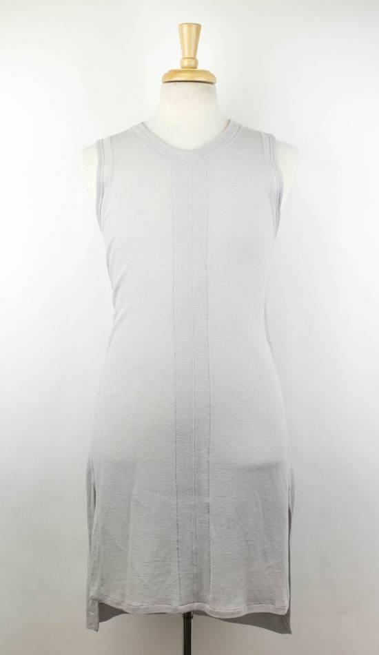 Julius MA_JULIUS Gray Cotton Blend 'Plaster' Long Tank Top T-Shirt Size 3/M Size US M / EU 48-50 / 2