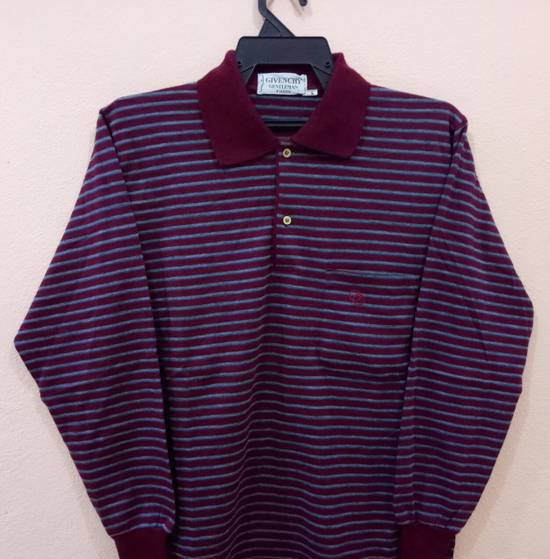 Givenchy Rare!! GIVENCHY long sleeve shirt polo shirt nice design stripe colour small size Size US S / EU 44-46 / 1 - 1