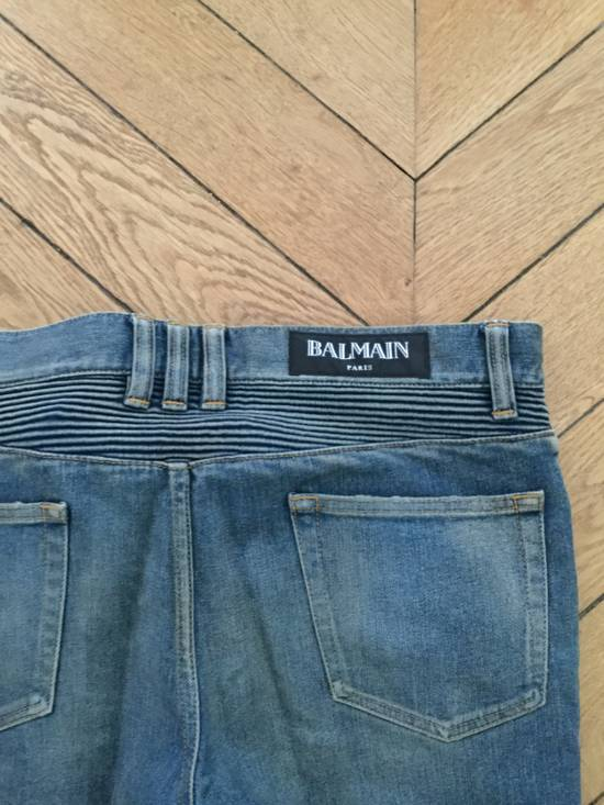 Balmain Balmain Biker Jeans Slim Fit Size 33 Size US 33 - 4