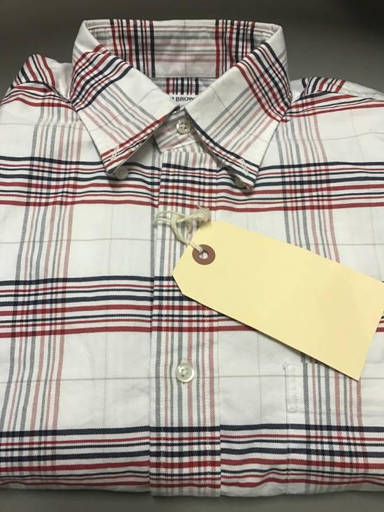Thom Browne Thom Browne Striped Oxford Shirt size 2 Size US M / EU 48-50 / 2 - 2